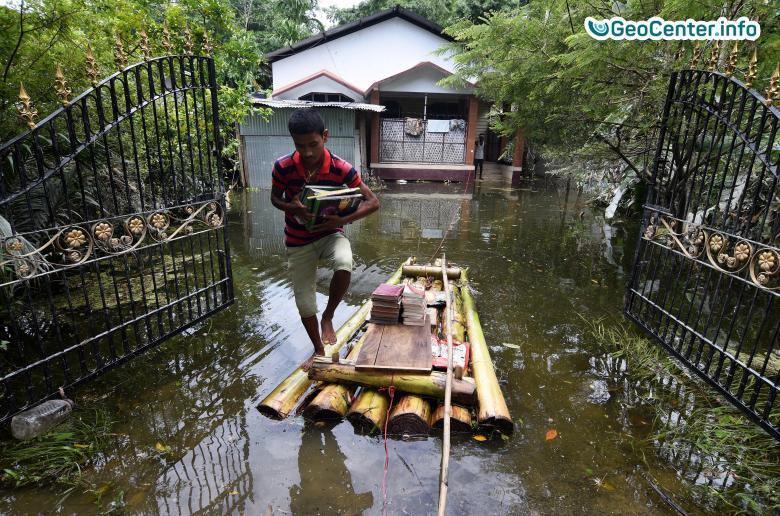 Наводнение в Индии, август 2017 года