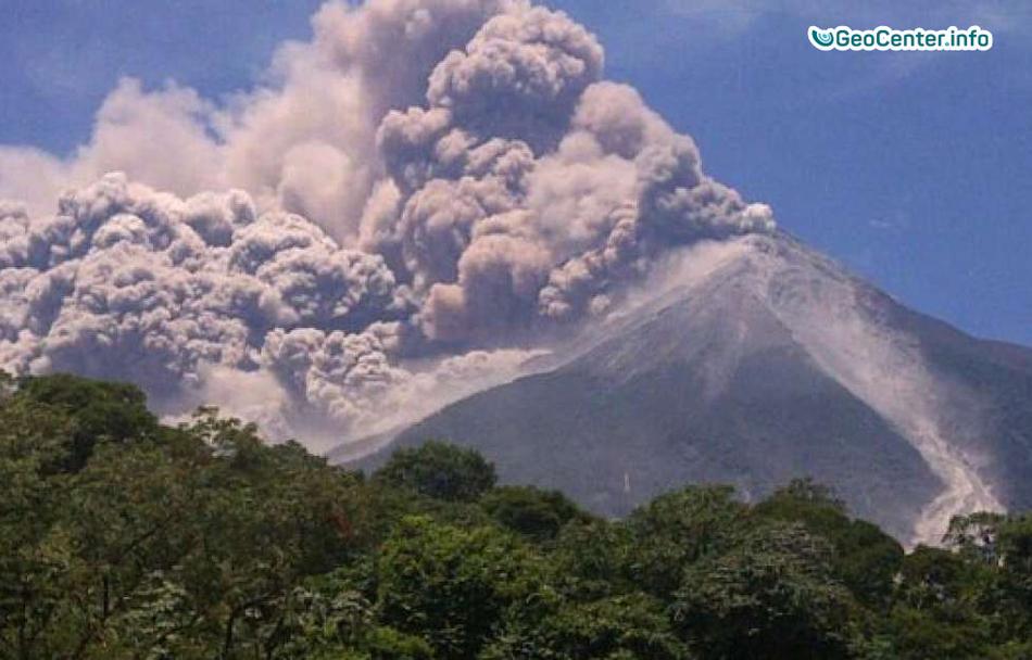 Извержение вулкана Фуэго и наводнения в Гватемале