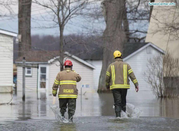Наводнения в городах Канады