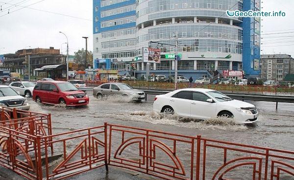 Потоп в Иркутской области в августе 2016