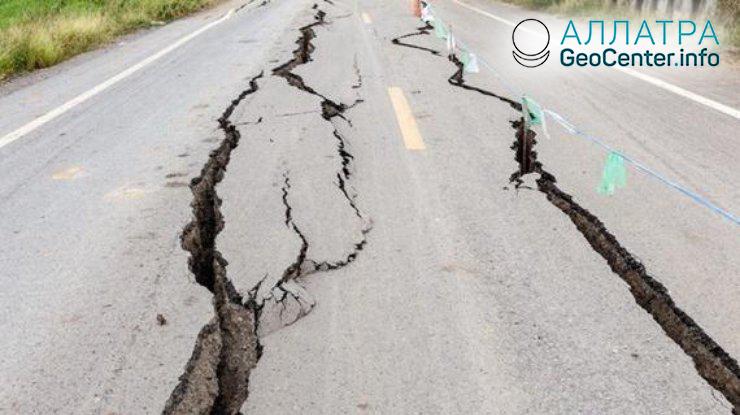Землетрясение магнитудой 5,3 в Иране 2 мая 2018 года