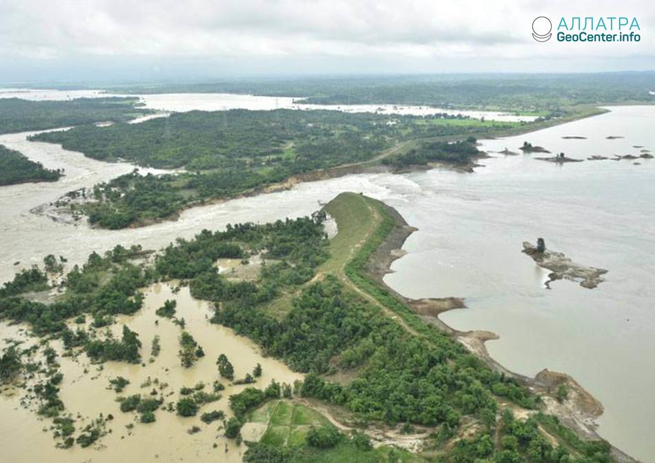 Наводнение в Мьянме, август 2018 г.