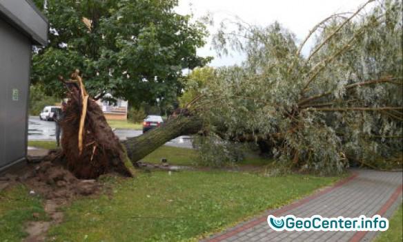 Сильный ураган в Польше, июль 2017 года