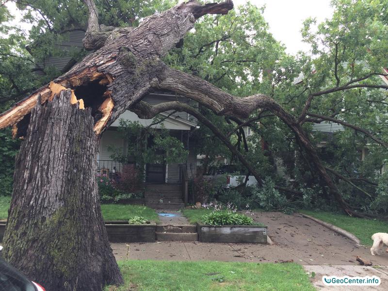 Торнадо обрушились на американский штат Мичиган