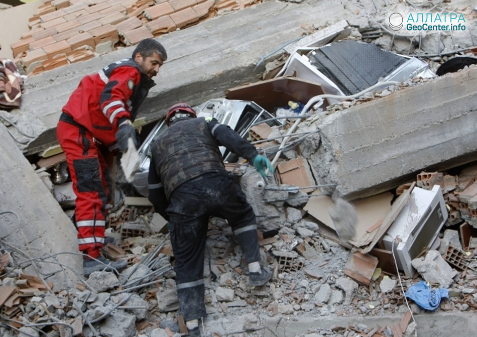 Землетрясение на юго-востоке Турции, апрель 2018