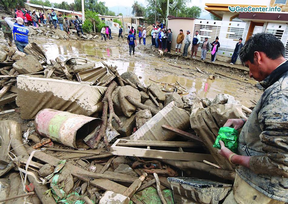 Сели и наводнения в Аргентине и в Боливии, 7 февраля 2018 года