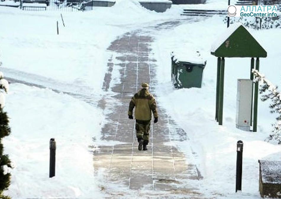 В Литве зафиксирована самая низкая температура за эту зиму, февраль 2018 г.