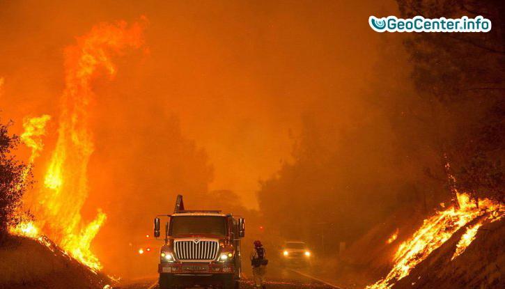Пожары в Калифорнии по площади с территорию Нью-Йорка. Что произошло на нашей Планете 8 декабря 2017