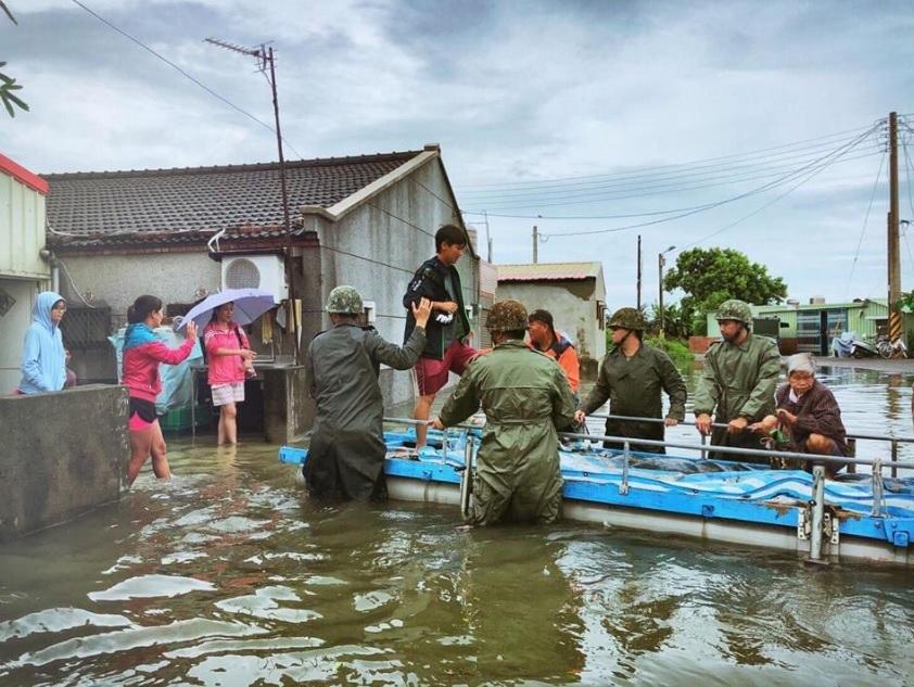 Наводнение на Тайване, август 2018 г.