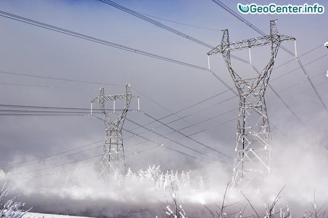 Снегопад в Швеции обесточил тысячи домов