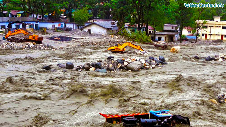 Сильнейшее наводнение в Индии 29.08-30.08.2016