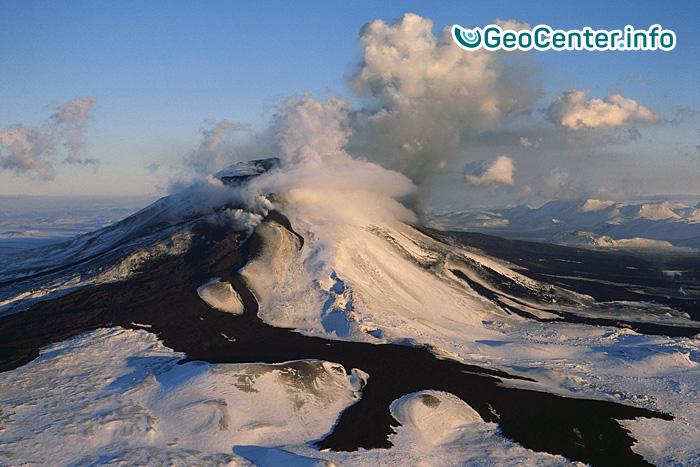 Баурдарбунга: эруптивная деятельность вулкана 5 и 6 октября 2016 года