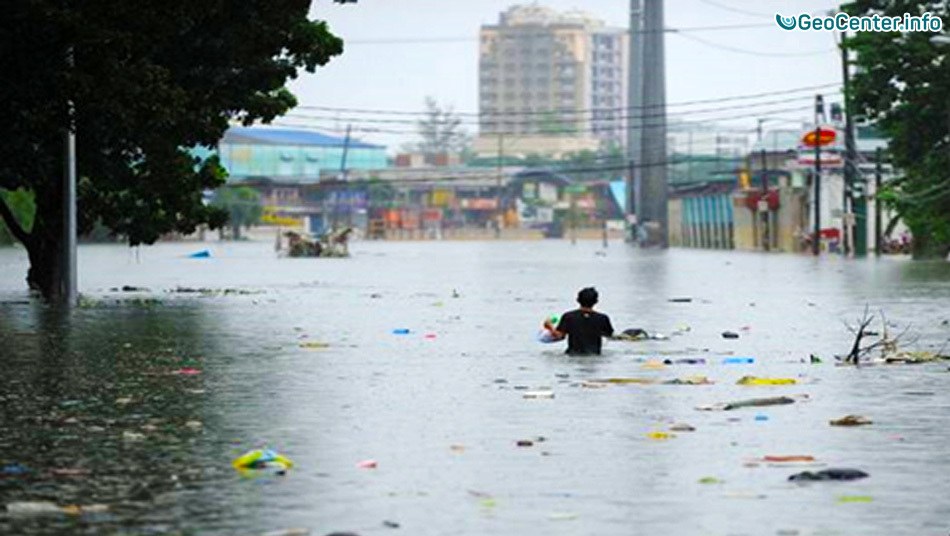 Сильные ливни обрушились на Филиппины