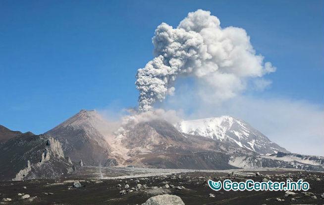 Эстафета извержений вулканов на Камчатке, июнь 2017