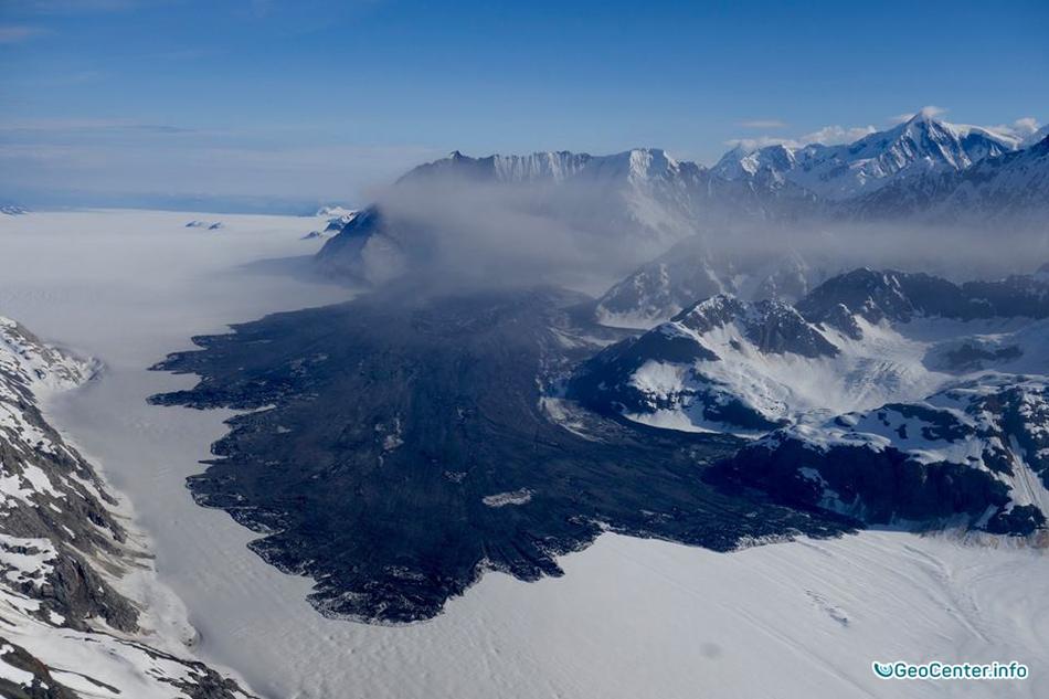 Шестой оползень на Аляске. Видео 31 июля 2016