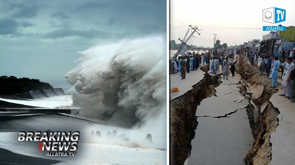 4 Million People Evacuated → Typhoons Hagibis, Mitag → Japan, Korea. Fires → USA. Allatra TV