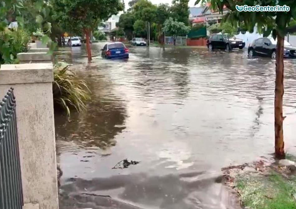 Мощный шторм обрушился на Австралийский штат Виктория, декабрь 2017