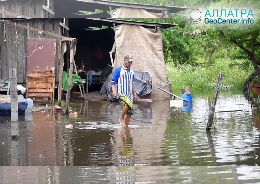 Наводнение в Парагвае, октябрь 2018 г.