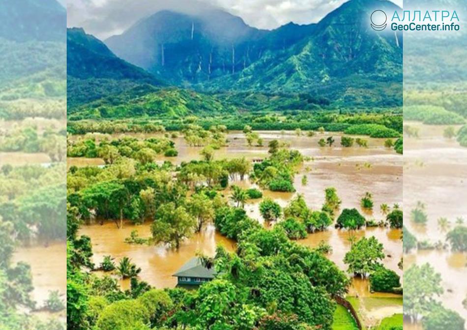 Наводнение на Гавайях, апрель 2018