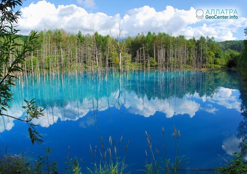 Самый голубой пруд в мире – Биэй.