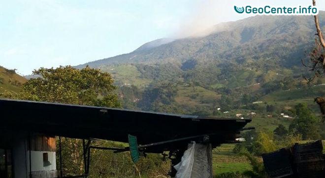Вулкан Турриальба  взорвался в Коста-Рике, 28 марта