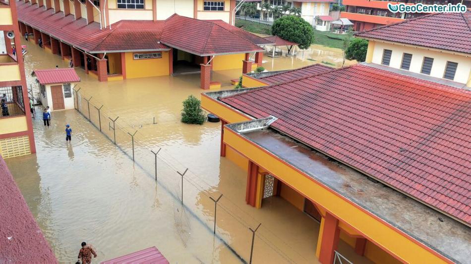 Наводнение в Малайзии, январь 2017