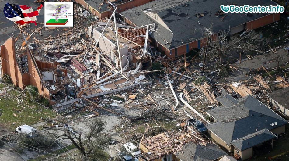 Серия разрушительных торнадо в США