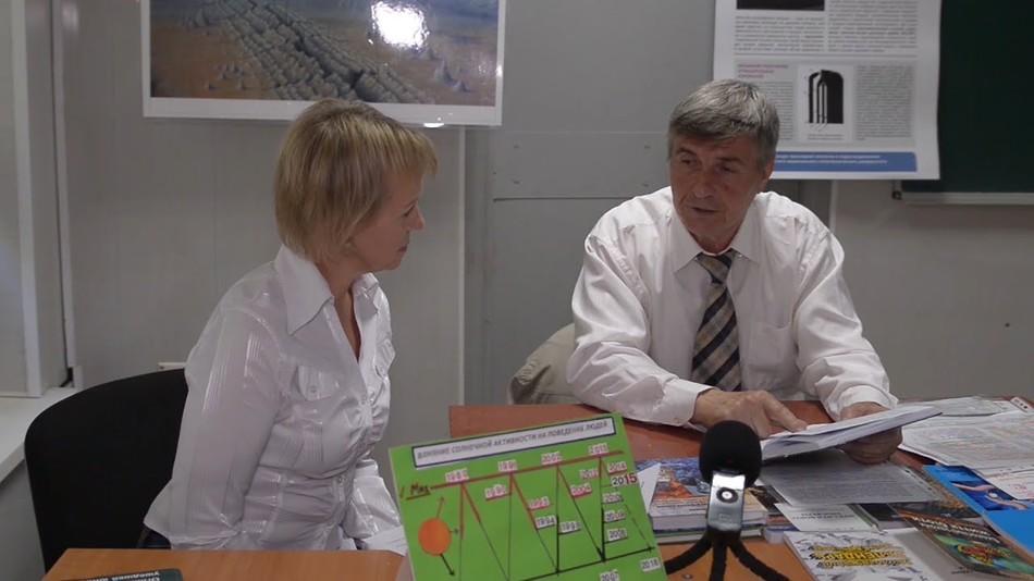 Об изменении климата, солнечной активности, трансформном разломе в Черном море. Профессор Шалимов Н.А.