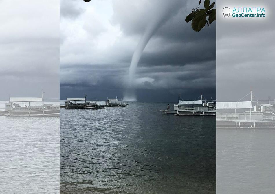 Торнадо, смерч и шквал в Турции, России, Филиппинах, 5 июня 2018 г.