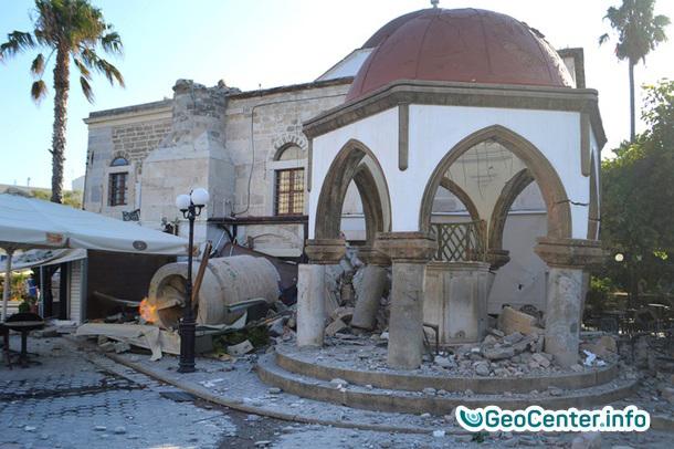 Землетрясение магнитудой 6,7 в Греции и Турции, июль 2017