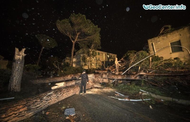 Четвертый за неделю торнадо в Италии