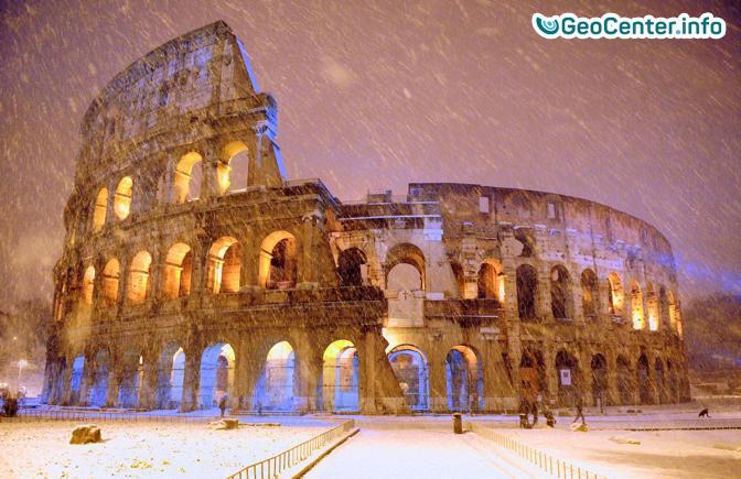 Париж-наводнение, Италия- 2м снега, Германия- ливни и наводнения