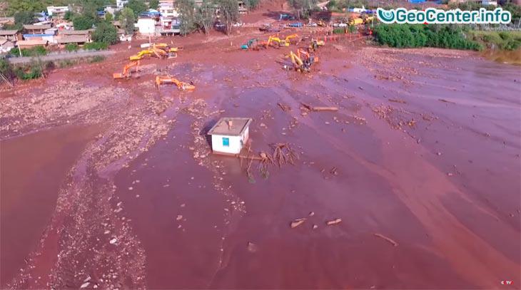 Селевые потоки на Юго-Западе Китая, сентябрь 2016