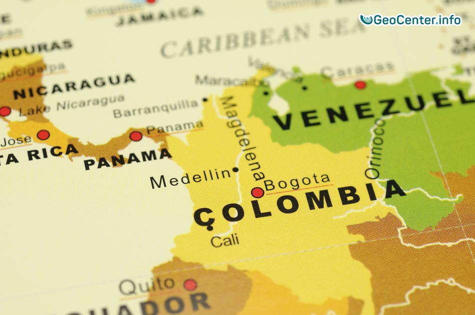 В самой населенной провинции Колумбии произошло землетрясение магнитудой 5,9