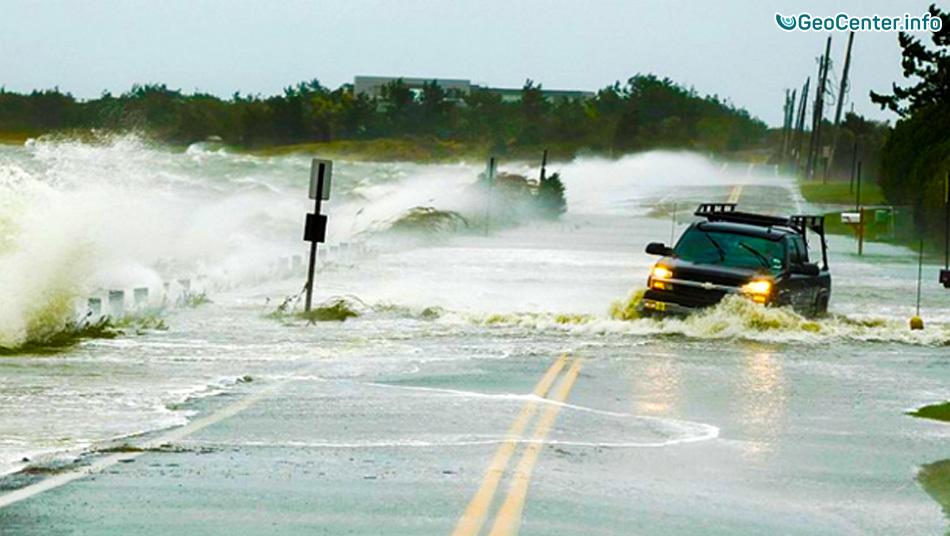 Ураган «Эрмин» на севере Флориды 1-2 августа 2016