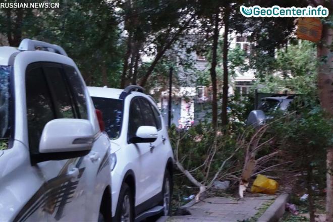 Ураган в Китайском округе Турфан