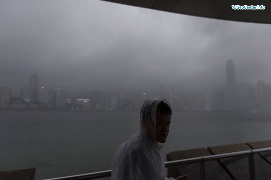 """Тайфун """"Мердок"""" в Китае, июнь, 2017 года"""