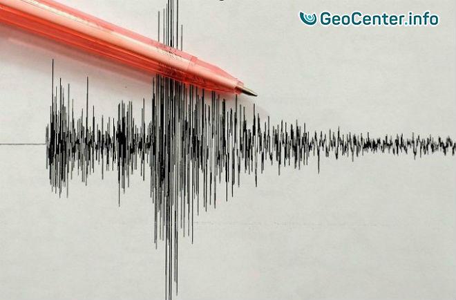 Землетрясение магнитудой 6,5 в южной части Атлантики, 13 декабря 2017