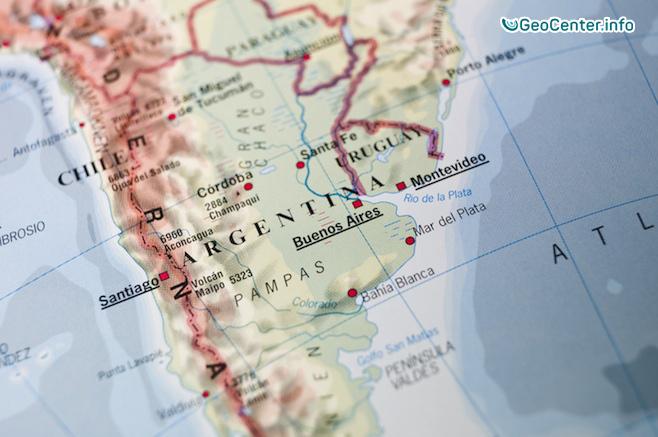 В Аргентине произошло землетрясение магнитудой 5,6 баллов