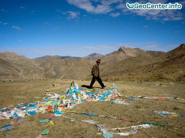 В Тибетском автономном районе Китая произошли землетрясения
