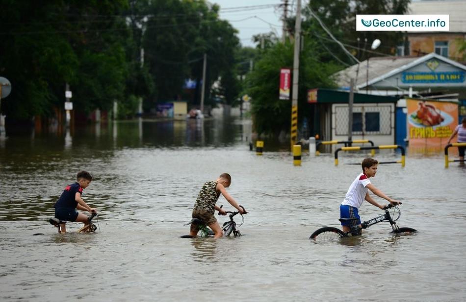 """Тайфун """"Лайонрок"""" в Приморском крае"""