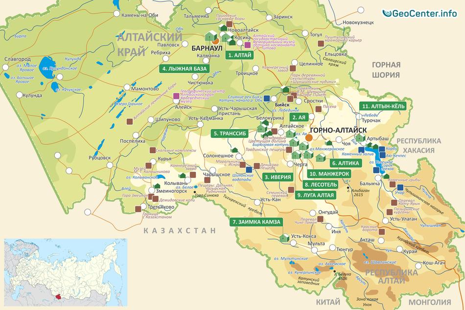 В юго-западном районе Алтая введен режим ЧС