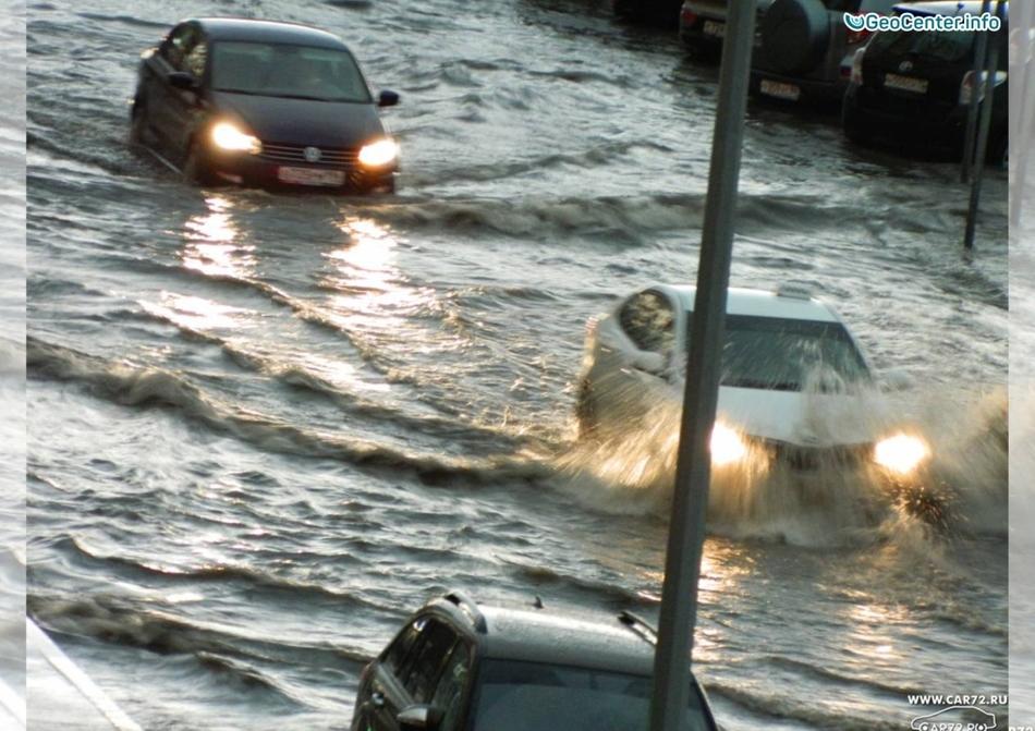 17-18 июня 2017 сильный ливень и ураган в Курганской и Тюменской областях