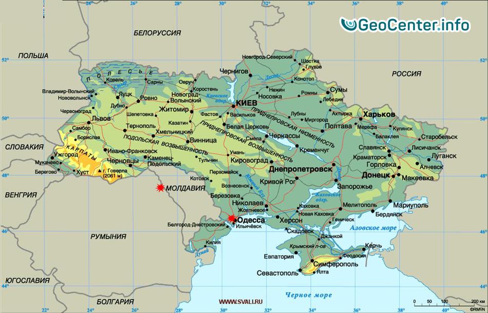 Буйная непогода разыгралась в Молдавии и Одессе