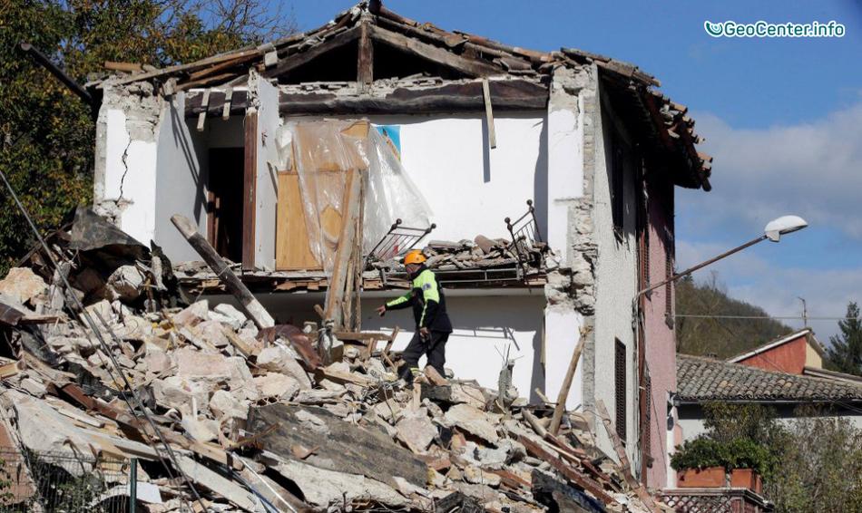 Землетрясение 6,6 балла в 130 км от Рима