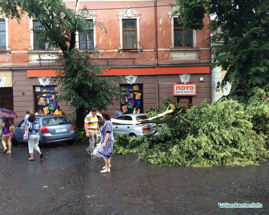 Ураган в Ужгороде 26 и 27 июля 2016