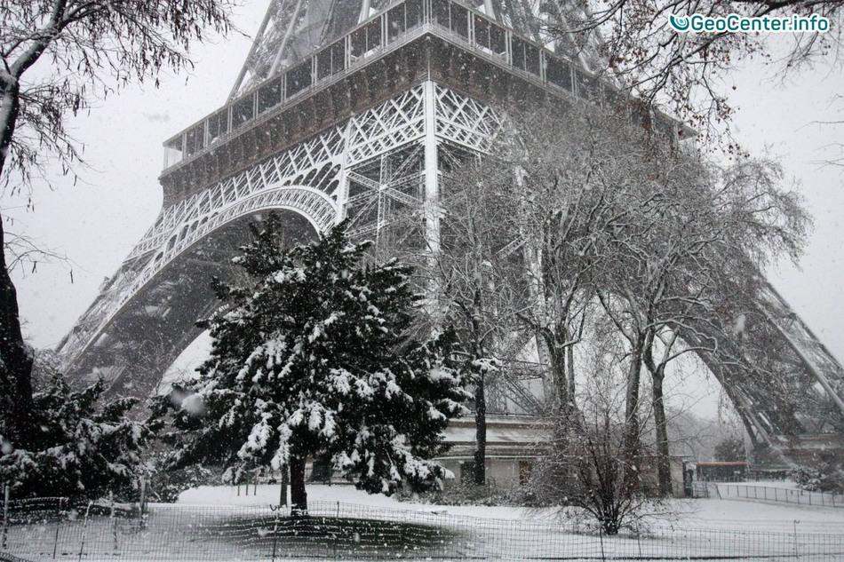 Зимняя буря во Франции и Германии, январь 2017