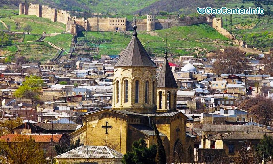 Подземные толчки в Дагестане