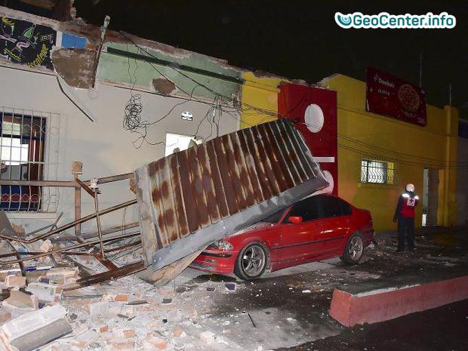 Мощное землетрясение в Гватемале