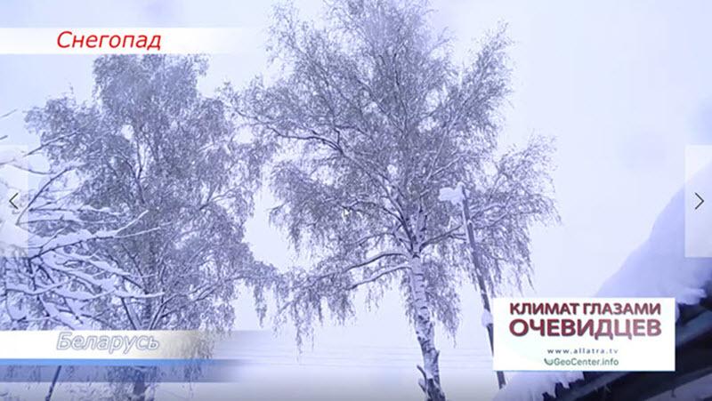 Снегопад в начале мая. Беларусь. Видео-репортаж глазами очевидца